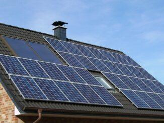 Umweltfreundliches Ökohaus mit Solarstrom
