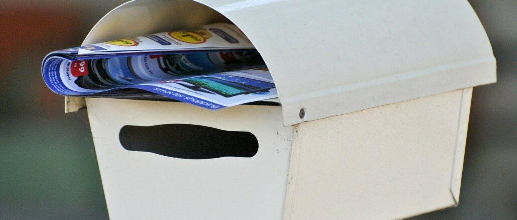 Wirksamkeit von Flyern und Prospekten