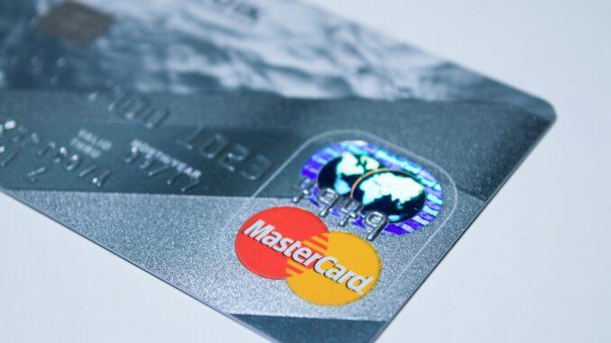 Beantragung einer Kreditkarte
