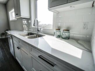 Küche mit Metro Fliesen
